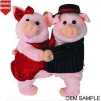 China CHStoy stuffed toy couple pigs on sale