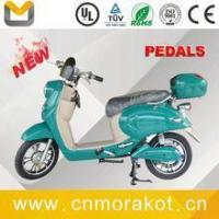 Buy cheap 350W~500W 32~37KM/H 2 wheel electric scooter/electric bike with pedals ---LS1-4 from wholesalers