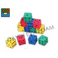 Buy cheap EVA Foam Colorful Dice Set - 4 cm, Set of 12 D700412D from wholesalers
