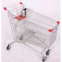 Buy cheap modern european style supermarket shopping trolley 80L from wholesalers