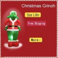 Buy cheap Factory price Outdoor Inflatable Christmas Grinch For Sale Inflatable Christmas LED Grinch from wholesalers
