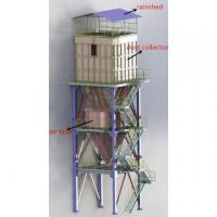 Buy cheap Industrial Pulse Jet Blowing Bag Dust Collector from wholesalers
