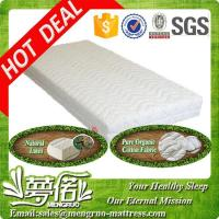 Wholesale sweet dream 7 zone 100% natural latex mattresses from china suppliers