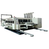 Buy cheap automatic flexo printing,slotting & die-cutting machine from wholesalers