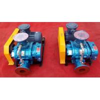 Buy cheap coal washing roots blower Oxygen supply fish pond use roots blower from wholesalers