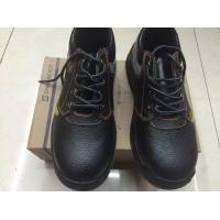 low cut cow leather safety shoes
