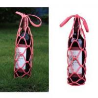 Buy cheap Silicon foldable stretchable wine bottle carrier from wholesalers