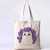 Buy cheap OEM Printing Tote Handle Clothes Packing Canvas Bag from wholesalers