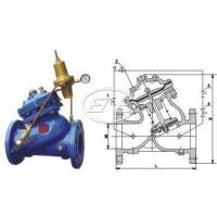 Buy cheap Pressure Reducing and Sustaining Control Valves Sizes:150~800mm Flow from wholesalers