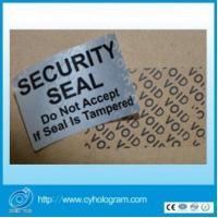 Buy cheap Custom warranty sticker void if tampered from wholesalers