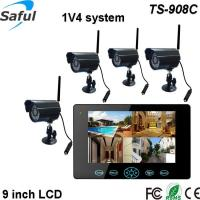 Buy cheap HD 9TFT-LCD wireless baby/elderly monitor with quad band motion sensor camera from wholesalers