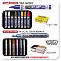 Buy cheap Paint Marker TEX 105 and Metallic Marker TEX 305 from wholesalers