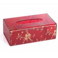 Wholesale Wholesale clear plastic tissue box printed box acrylic display box BTB-151 from china suppliers