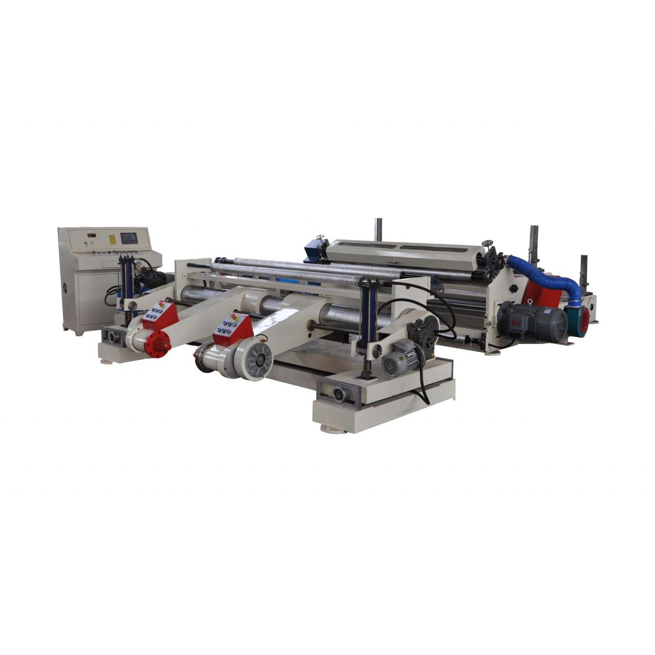 AUTOMATIC JUMBO ROLL PAPER SLITTING REWINDING MACHINE DF-SR1600 Manufactures