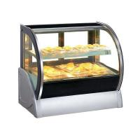 Round Glass Table Top Pastry Showcase Manufactures
