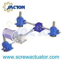 Buy cheap multiple screw jack bevel gearbox arrangements from wholesalers