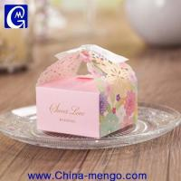 Wholesale 2015 Hollow Out Wedding Rectangle Folding Paper Box from china suppliers
