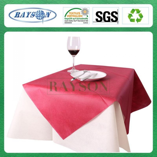 Quality Non woven table runner 50gsm for sale