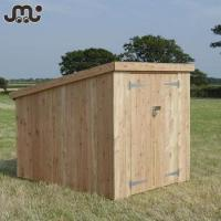 Buy cheap wooden buildings Multi sizes handmade wooden garden house,simple durable garden storage house from wholesalers