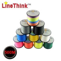 China Linethink Brand 500M 100% PE Braided Fishing Line on sale