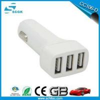 Buy cheap 5V 5.8A 3 Multi Port USB Mobile Phone Battery Charger for Car from wholesalers