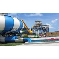 Buy cheap Joy Ride Space Bowl Slide / FRP + Stainless Steel Play Equipment For Schools from wholesalers