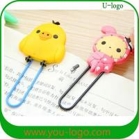 Wholesale cartoon pvc bookmark from china suppliers