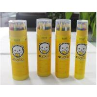 Buy cheap Cheap colored pencil set For kids with paper tube Statinery set from wholesalers