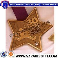 Wholesale Sports Medal With Ribbon Vienna City Marathon Finisher's Medal from china suppliers