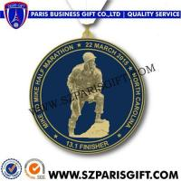 Buy cheap 2015-Half-Medal Custom Zinc Die Cast Medals from wholesalers