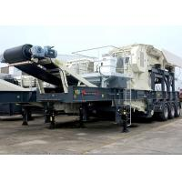 Buy cheap Tire Mobile Jaw Crushing Station from wholesalers