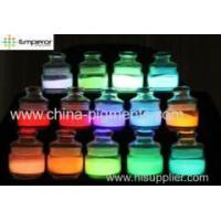 photoluminous pigment glow in dark powder with small particle size Manufactures