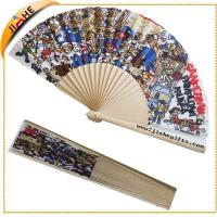 Wholesale Customised Brand Logo Printed Hand Held Wooden Fans from china suppliers