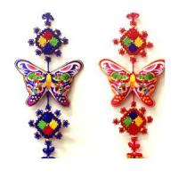 Wholesale Embroidered Butterfly Wall Hangings from china suppliers
