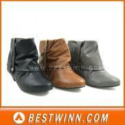 Buy cheap 1680prs of Lady Ankle Boots Stocklots (ST146) from wholesalers