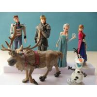Buy cheap Cheap 12-14 Years Frozen Anna Elsa Best Frozen PVC Figures Toys from wholesalers