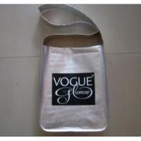 Promotional Necklace Metallic film non woven bags,Silver Film Laminated Non Woven Bag Manufactures