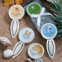Buy cheap Personalized Bookmark Favors from wholesalers