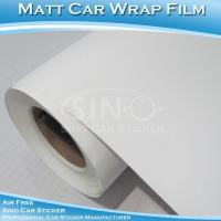 Wholesale Matt Sanding White Car Body Wrap Film from china suppliers