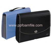Buy cheap PP Foam Stationery 13 Pocket A4 Expanding file folder with handle from wholesalers