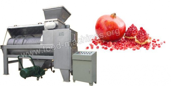 Quality Pomegranate Peeling&Crushing Machine Introduction for sale