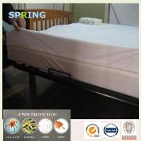 Buy cheap High quality laminated fabric futon bed bug mattress cover from wholesalers