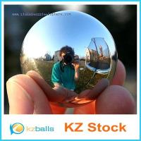 Buy cheap Mirror Finish Stainless Steel Hollow Ball / Sphere from wholesalers
