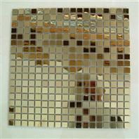 Buy cheap Golden metal ceramics tiles from wholesalers