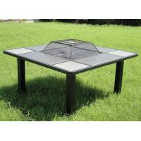 Buy cheap Stone fire pit 37''squaretablefirepit from wholesalers