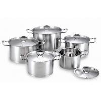 Buy cheap simple design 10 pieces cookware set from wholesalers