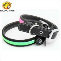 Buy cheap High quality leather LED collar from wholesalers