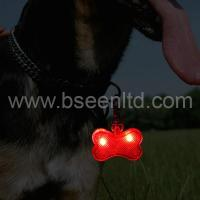 bone-shaped led dog tag Manufactures