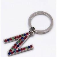 Buy cheap Alphabet Z pendant keychain from wholesalers