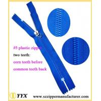Wholesale Corn teeth plastic zipper with the common teeth from china suppliers
